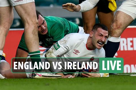 England 18-7 Ireland rugby LIVE RESULT: Jonny May's ...