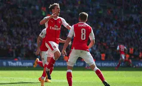 Arsenal 2-1 Manchester City, Live Score and Commentary, FA ...