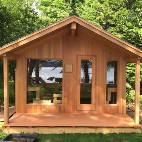 Backyard Sauna by Seattle Infrared Traditional And Custom Saunas Olympic