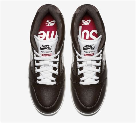 supreme  nike sb air force  collection  expected