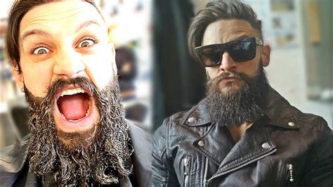 Man Bun Meets Viking Beard