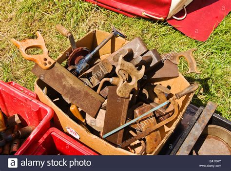 woodworking hand tools  sale stock photo