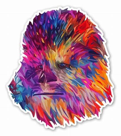 Chewie Stickerapp