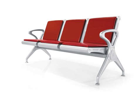 stainless steel airport school church waiting chairs