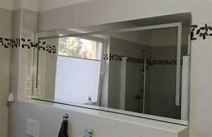 Badspiegel Beleuchtet Mit Ablage : beleuchteter badspiegel glaserei sakowski ~ Bigdaddyawards.com Haus und Dekorationen