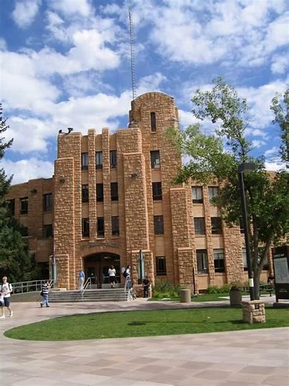 Wyoming University Laramie Campus Located Built Aaroads