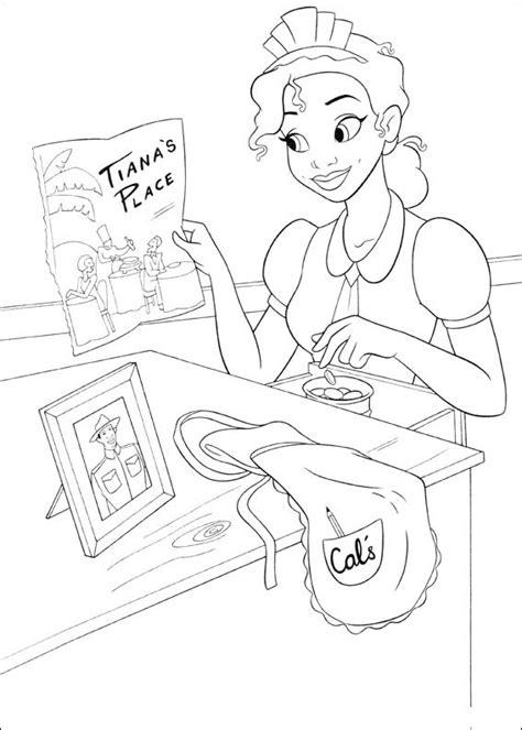 disegni  tiana de la principessa  il ranocchio da