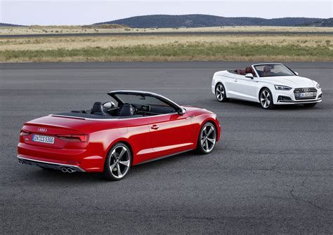 2017 Audi A5 And S5 Cabriolet Unveiled Forcegtcom