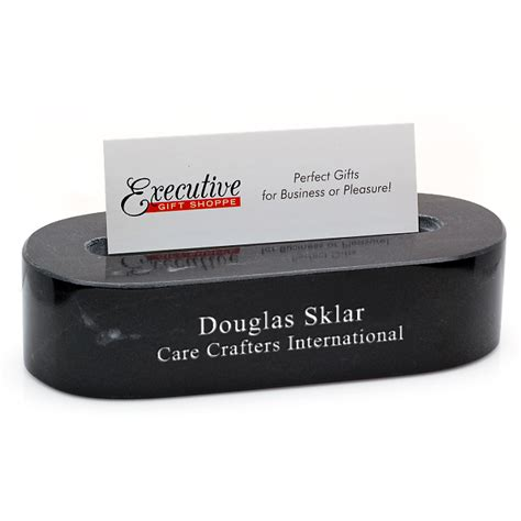 Use our free business card maker to easily create your own custom business cards. Black Marble Oval Personalized Desktop Business Card ...