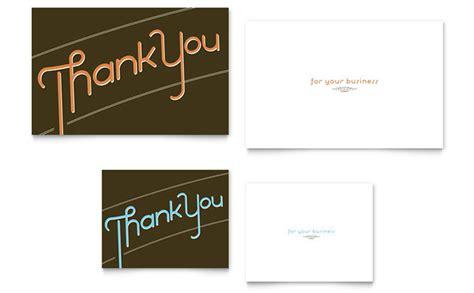 note card template design