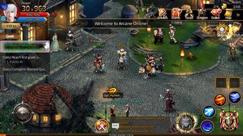 games arcane ipad mmorpg game mobile screenshot apk sissy