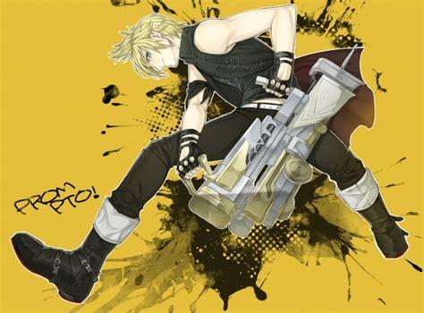wallpaper final fantasy xv prompto argentum blonde