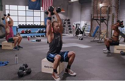 Dumbbell Workout Tricep Extension Seated Muscle Exercises