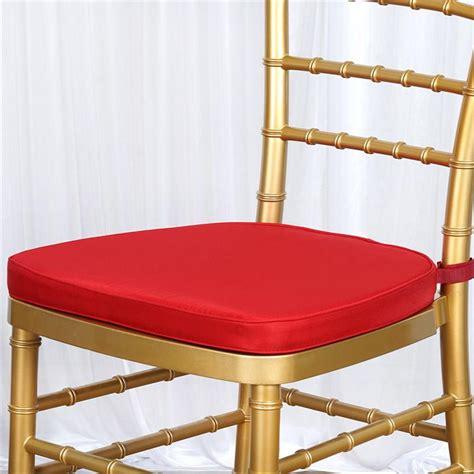 polyester cushion for chiavari chair covers wedding