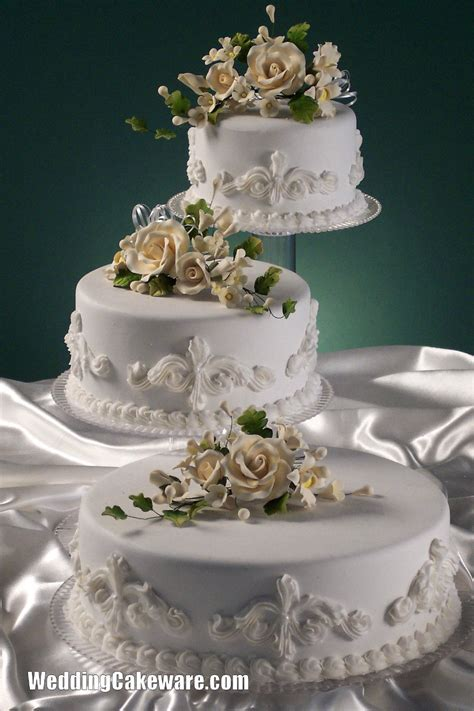 3 Tier Cascading Wedding Cake Stand Stands