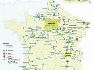 Carte De France Autoroute : en 2017 des bornes de recharge lectrique tous les 80 km sur les autoroutes de france ~ Medecine-chirurgie-esthetiques.com Avis de Voitures