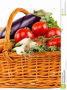 Fresh Vegetables In Basket Stock Images - Image: 31474484
