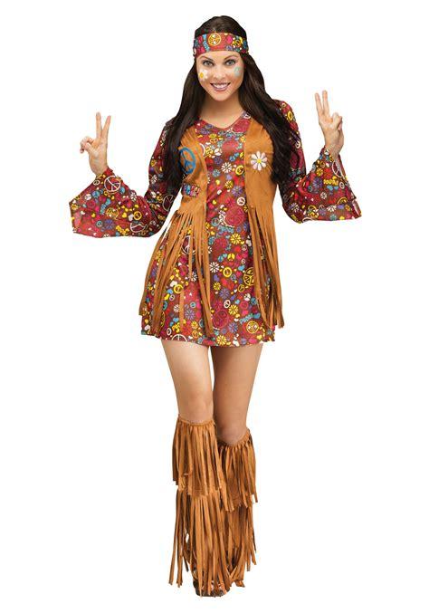 Peace u0026 Love Hippie Adult Costume | eBay