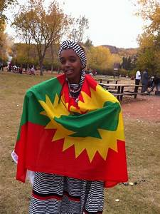 beauty, Oromo girl (Oromia, East Africa) with traditional ...