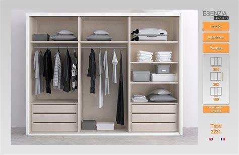 armarios de 3 puertas elegante armario de 3 puertas correderas en color blanco y
