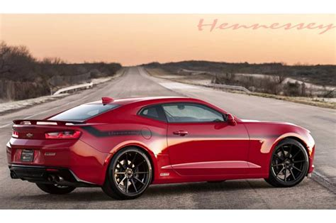 Watch The 2016 Hennessey Chevrolet Camaro Ss Hit 202 Mph