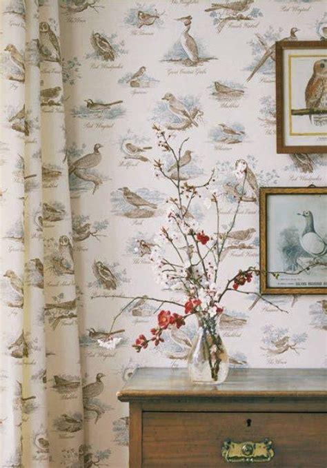 buy lewis wood bewick birds wallpaper  alexander
