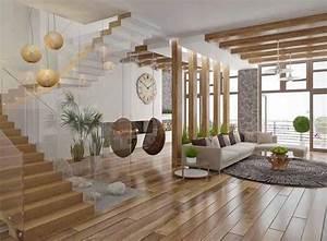 deco escalier en bois 2013 photo deco maison idees With decoration maison en bois