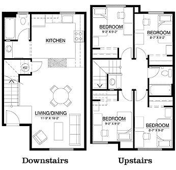 apartment layout design townhouse floor plans floor plans
