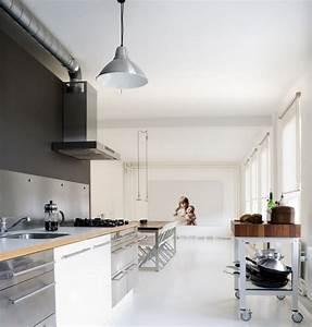 Küche Und Esszimmer : k che und esszimmer in grau weiss connys diary ~ Markanthonyermac.com Haus und Dekorationen