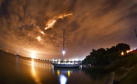 Photographers Shine Capturing Stunning Spacex Night Launch