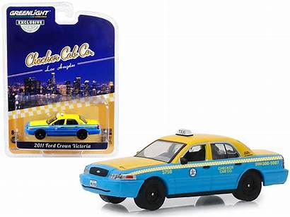 Taxi Greenlight Crown Victoria Ford Angeles Cab