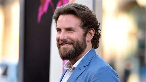 Bradley Cooper Man Bun Back See The Look Today