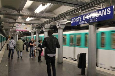 metro porte d orleans photo