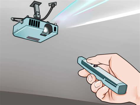 mount  projector  steps  pictures wikihow