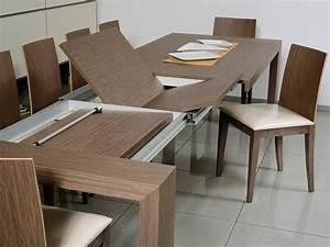 Tavolo allungabile rettangolare, per sala da pranzo IDFdesign