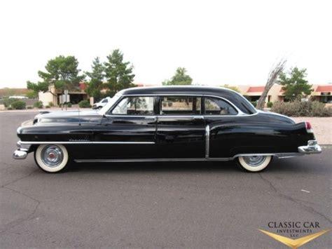 Sedan Limousine by 1951 Cadillac Series 75 Fleetwood 7 Passenger Business