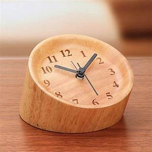 Wood, Alarm, Clock