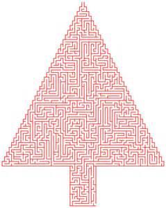 Free Printable Christmas Maze Puzzles