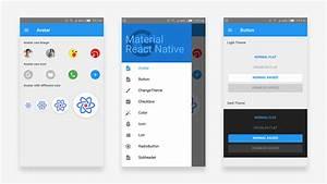 A Material Design React Native Sample App