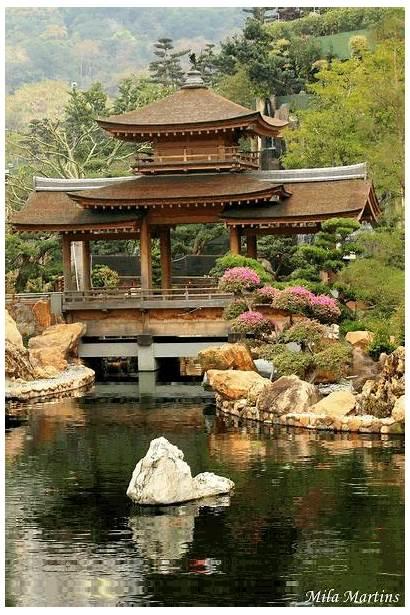 Japanese Garden Zen Gardens Chinese Japan China