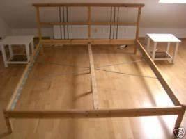 Ikea Bett Weiß 180x200 : ikea bett dalselv 180x200 massiv in asbach von privat doppelbett ehebett ~ A.2002-acura-tl-radio.info Haus und Dekorationen