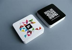 Carte De Visite Original : un concept de carte de visite tr s original et innovant utilisant le qr code layout ~ Melissatoandfro.com Idées de Décoration