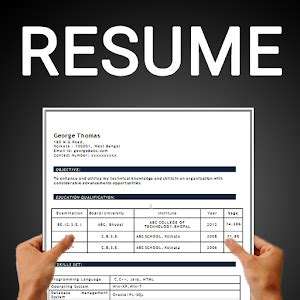 Best Resume Builder by Which Are The Best Free Resume Builder Apps Quora
