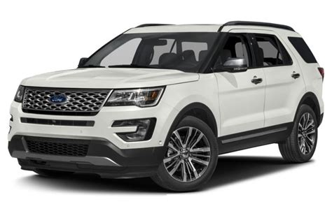 ford explorer specs safety rating mpg carsdirect