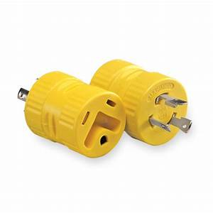 20 Amp  3 Prong Generator Plug Adapter