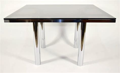 smoked glass dining table tobia scarpa for knoll quot andre quot dining table with smoked