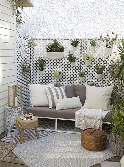 space saving planter ideas   small balcony