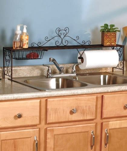 Over The Sink Shelf Use Area Behind Your Kitchen Sink