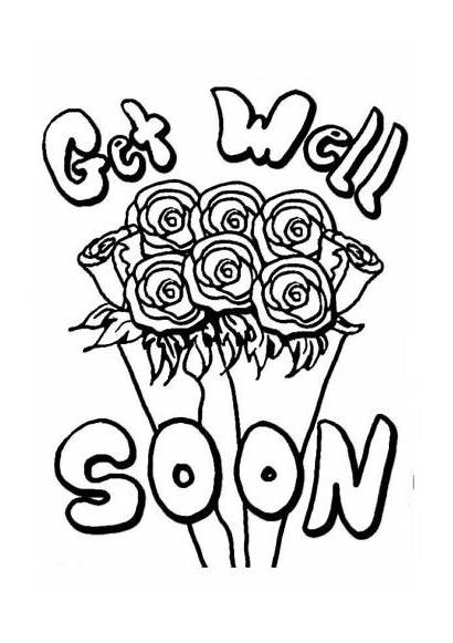 Soon Well Coloring Pages Printable Cards Card