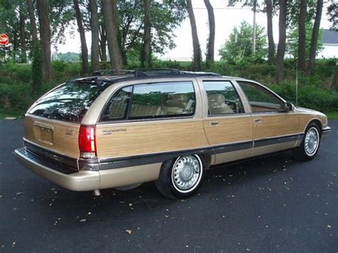 Wood Buick by Sell Used 1996 Roadmaster Estate Wagon Buick Wood Grain